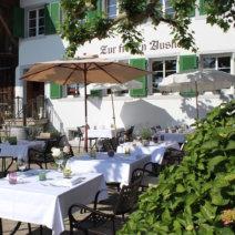 Restaurant Zürich First Tisch Garten