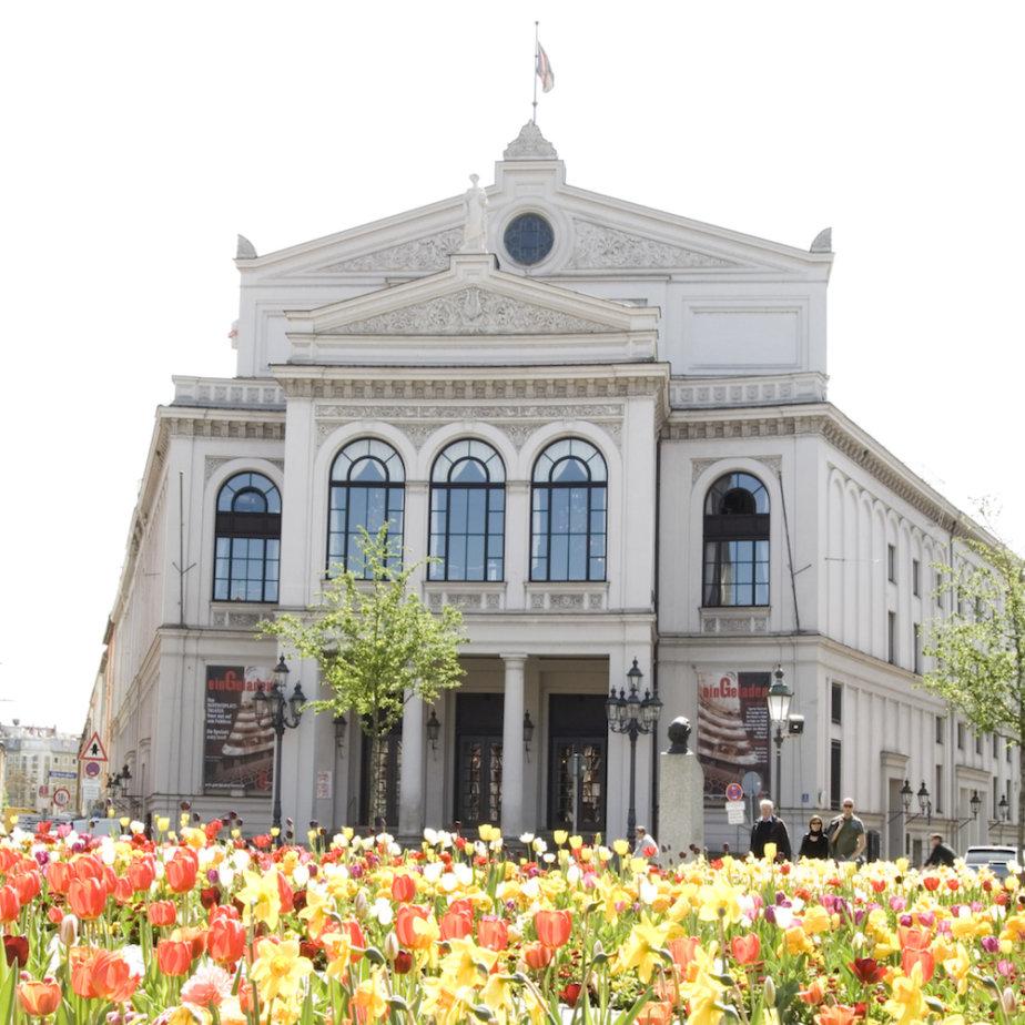 Gärtnerplatztheater München am Tag
