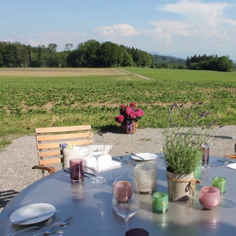 Restaurant Zürich First Tisch
