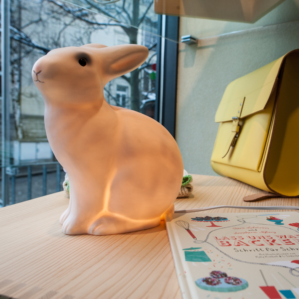 Zürich Vier Linden Boutique Hase Lampe