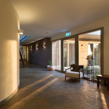 Rosenberg Ayurveda Institut Birstein Eingangsbereich