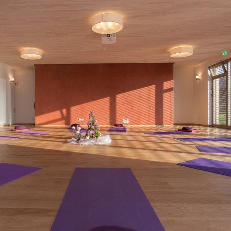 Rosenberg Ayurveda Institut Birstein Yoga Raum