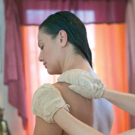 Rosenberg Ayurveda Institut Massage Behandlung