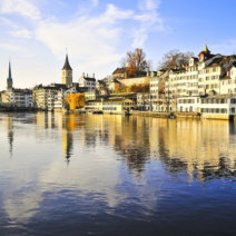 Zürich Altstadt Limmat