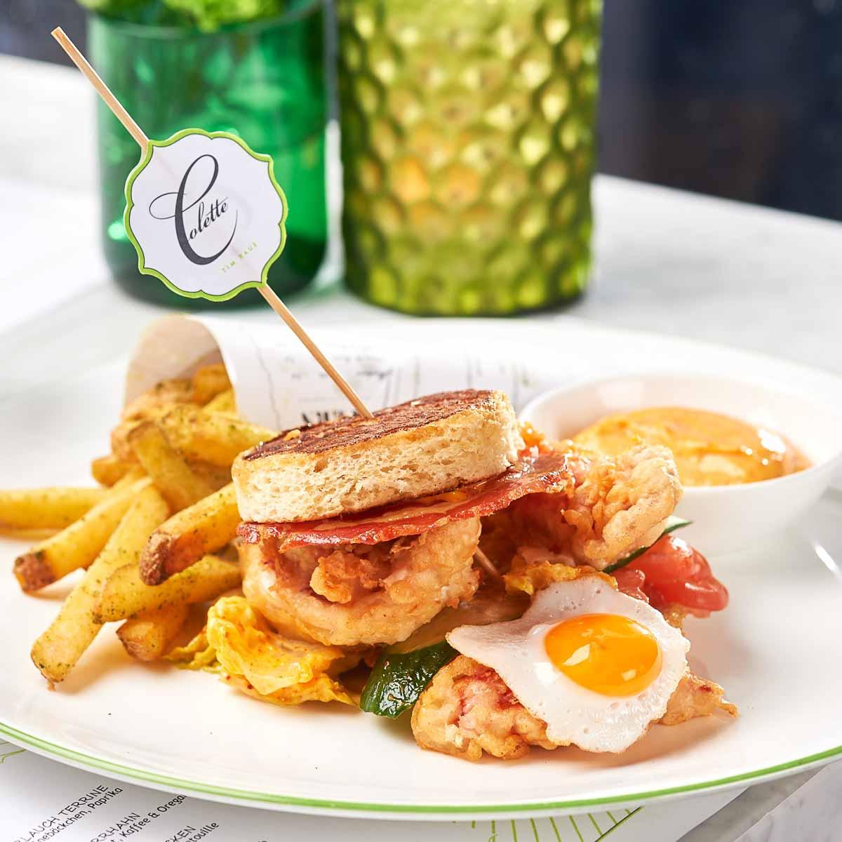 Brasserie Colette Tim Raue Clubsandwich
