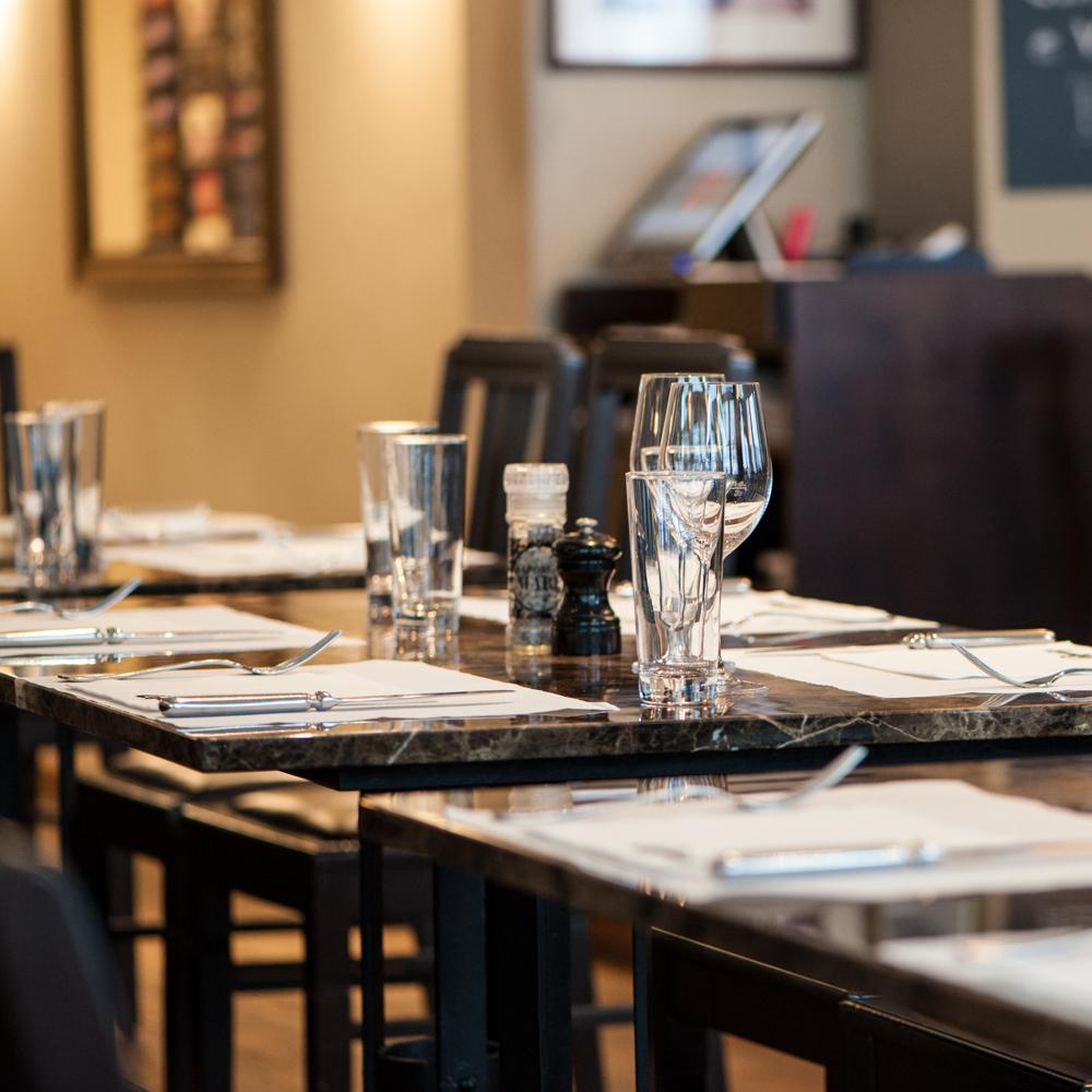 Commercio Restaurant Zürich gedeckt
