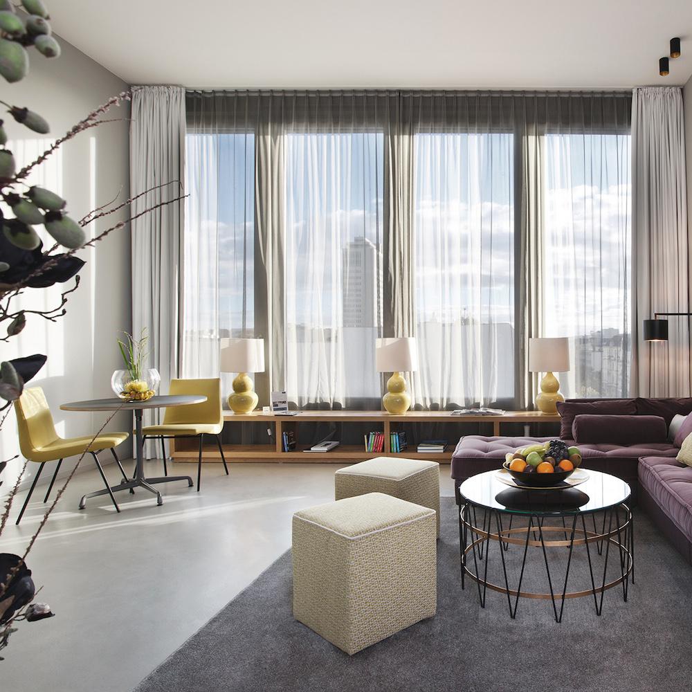 H'Otello K80 Penthouse mit Blick über Berlin