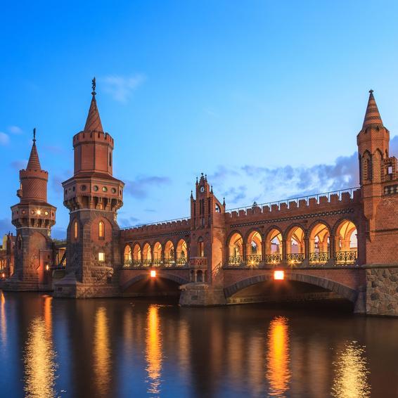 Oberbaum Brücke Berlin