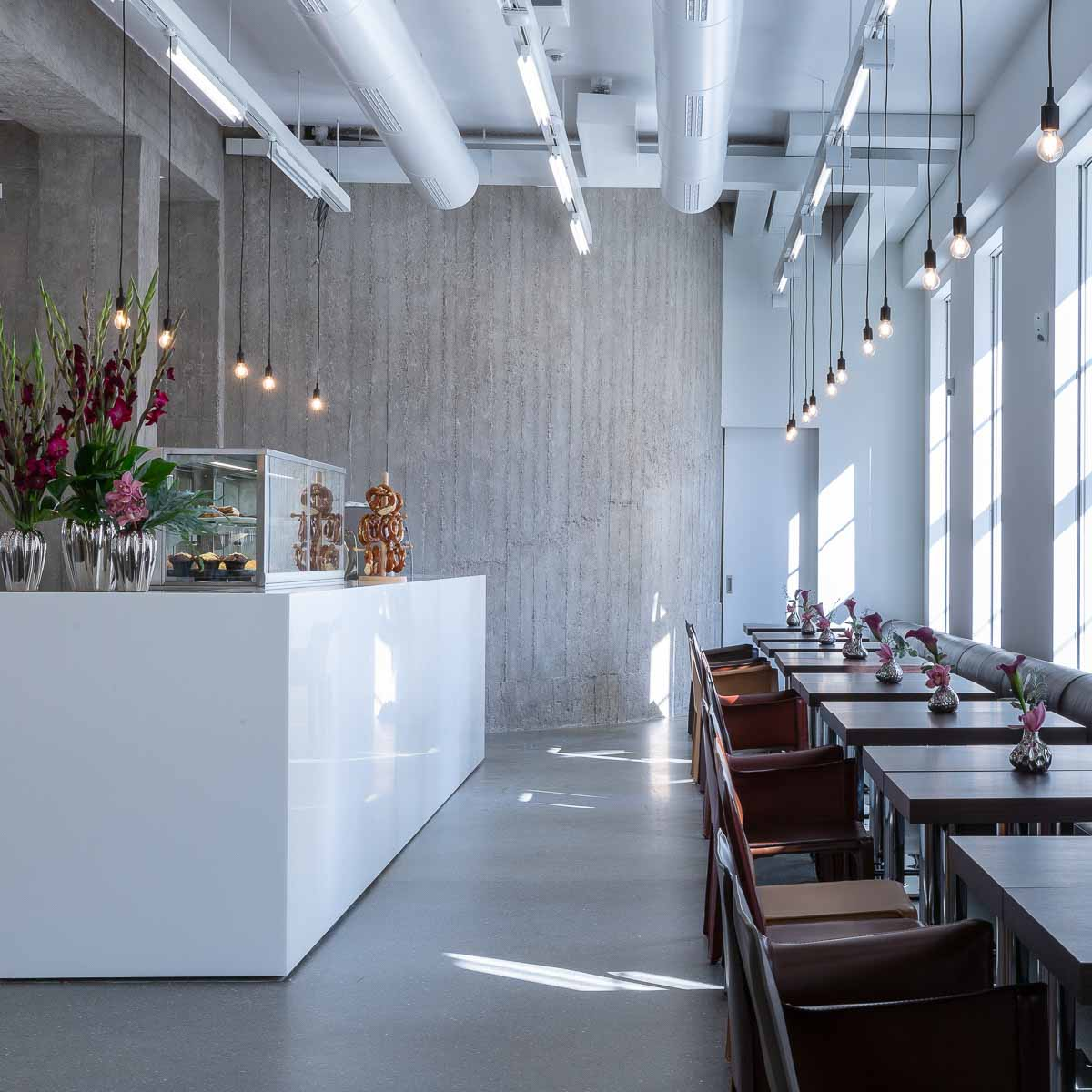 Palais Populaire Berlin Café © Andreas Bohlender