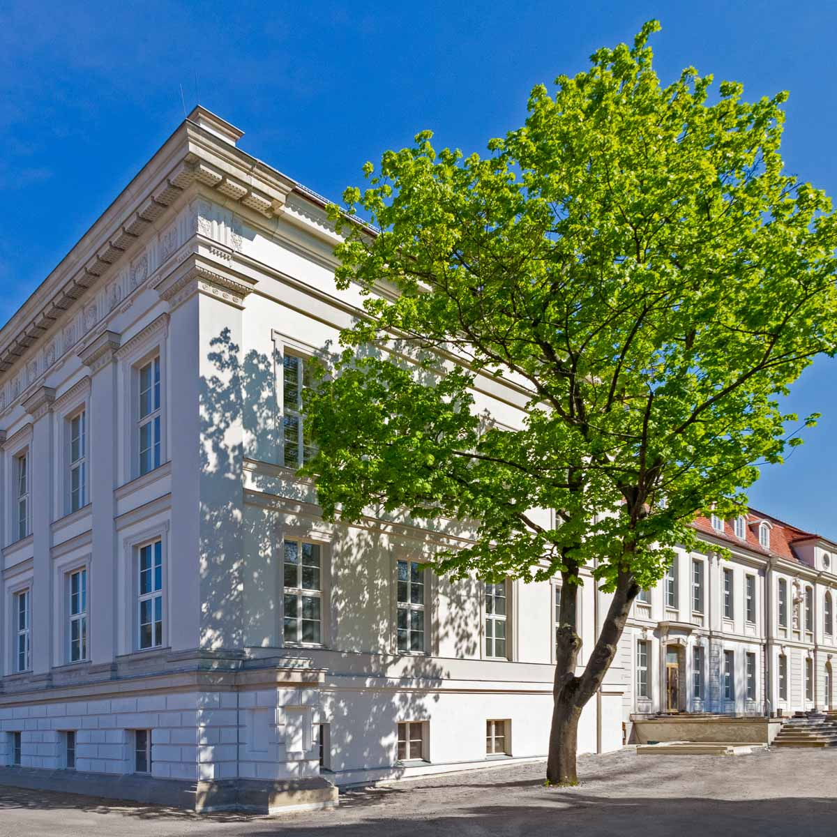 Palais Populaire Berlin Fassade © Mathias Schormann
