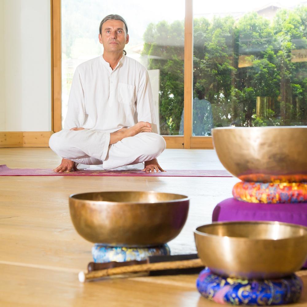 Stanglwirt Yoga Wellness Klangschalen