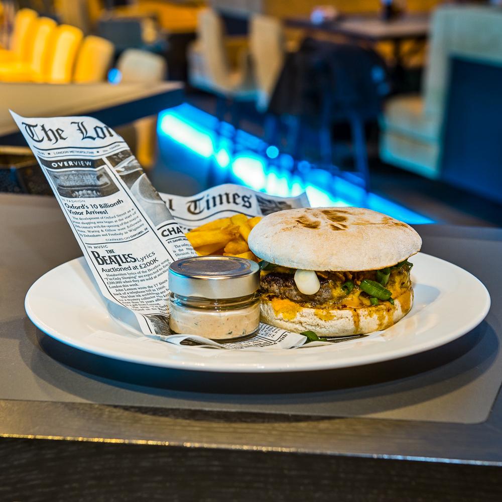 The Room Restaurant Wien Burger