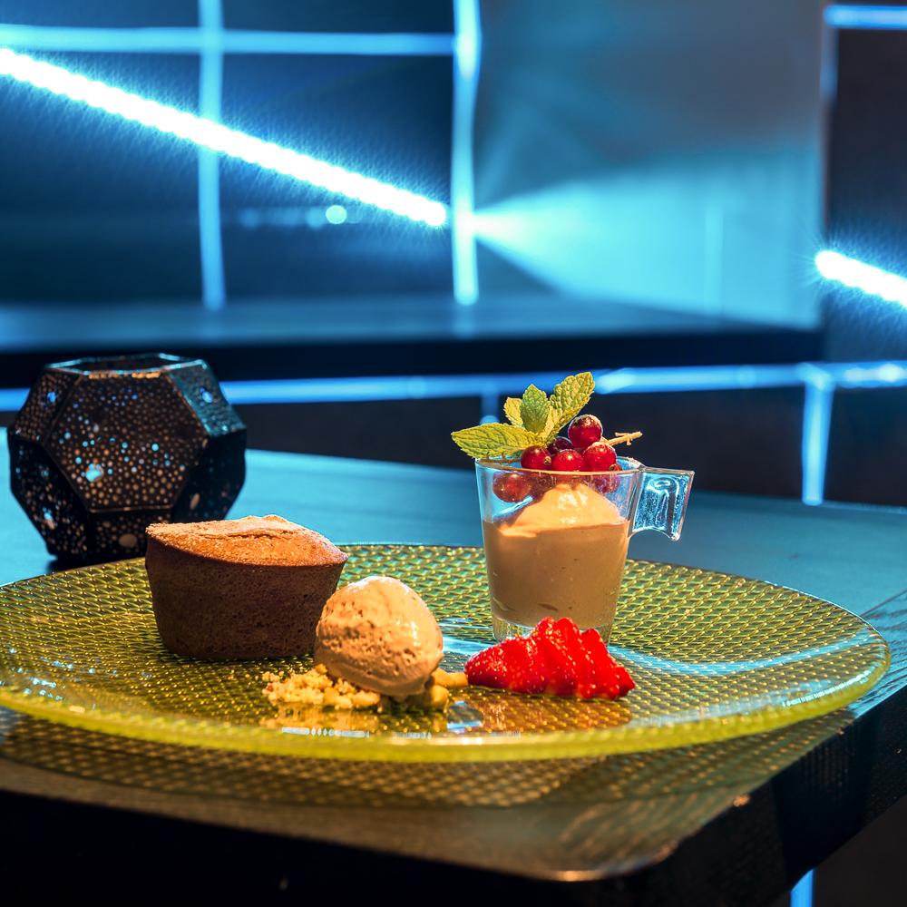 The Room Restaurant Wien Dessert