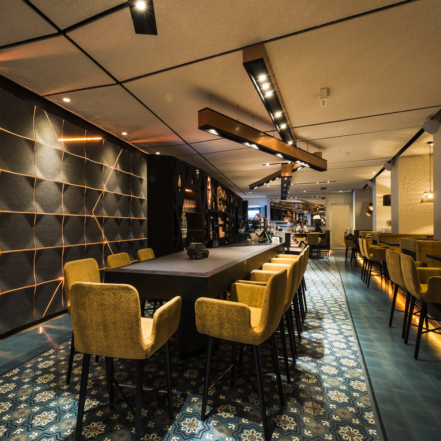 the room sofiens le restaurant bar wien wien creme guides. Black Bedroom Furniture Sets. Home Design Ideas