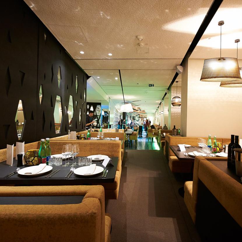 The Room Restaurant Wien Sitzplatz