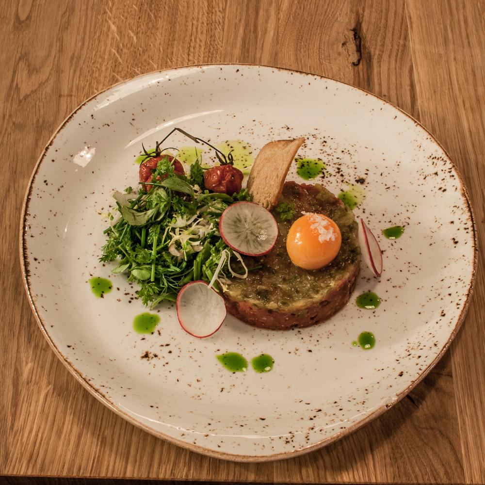 Acht & Dreißig Restaurant Friedrichstraße Berlin Teller