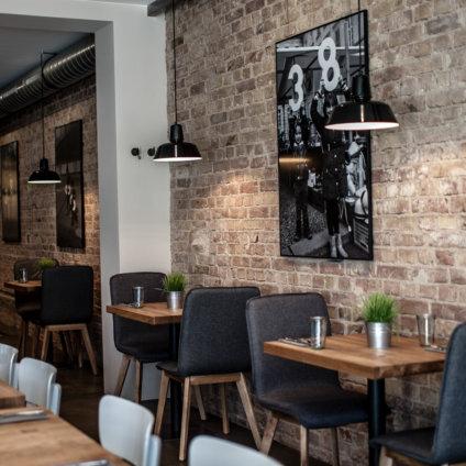 Acht & Dreißig Restaurant Friedrichstraße Berlin Innenansicht