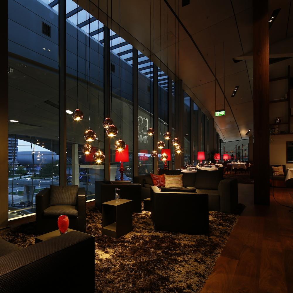 Esszimmer BMW Welt München - Lounge