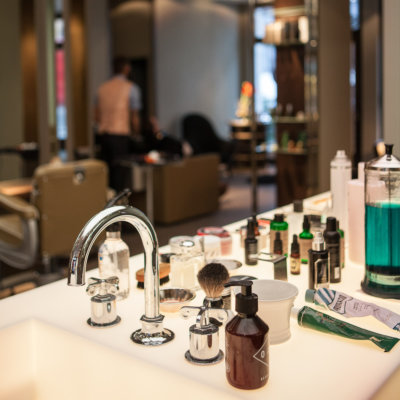 Gentlemens Circle Friseur Berlin Interieur