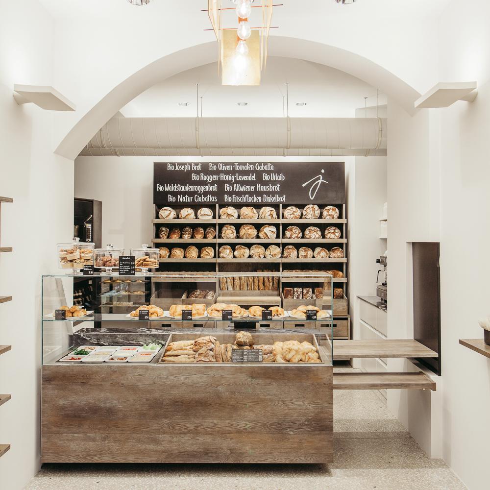 Joseph Brot Bäckerei Wien Tresen