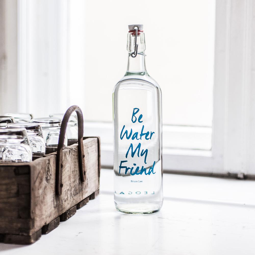 Leogant Wasseraufbereitung Flasche