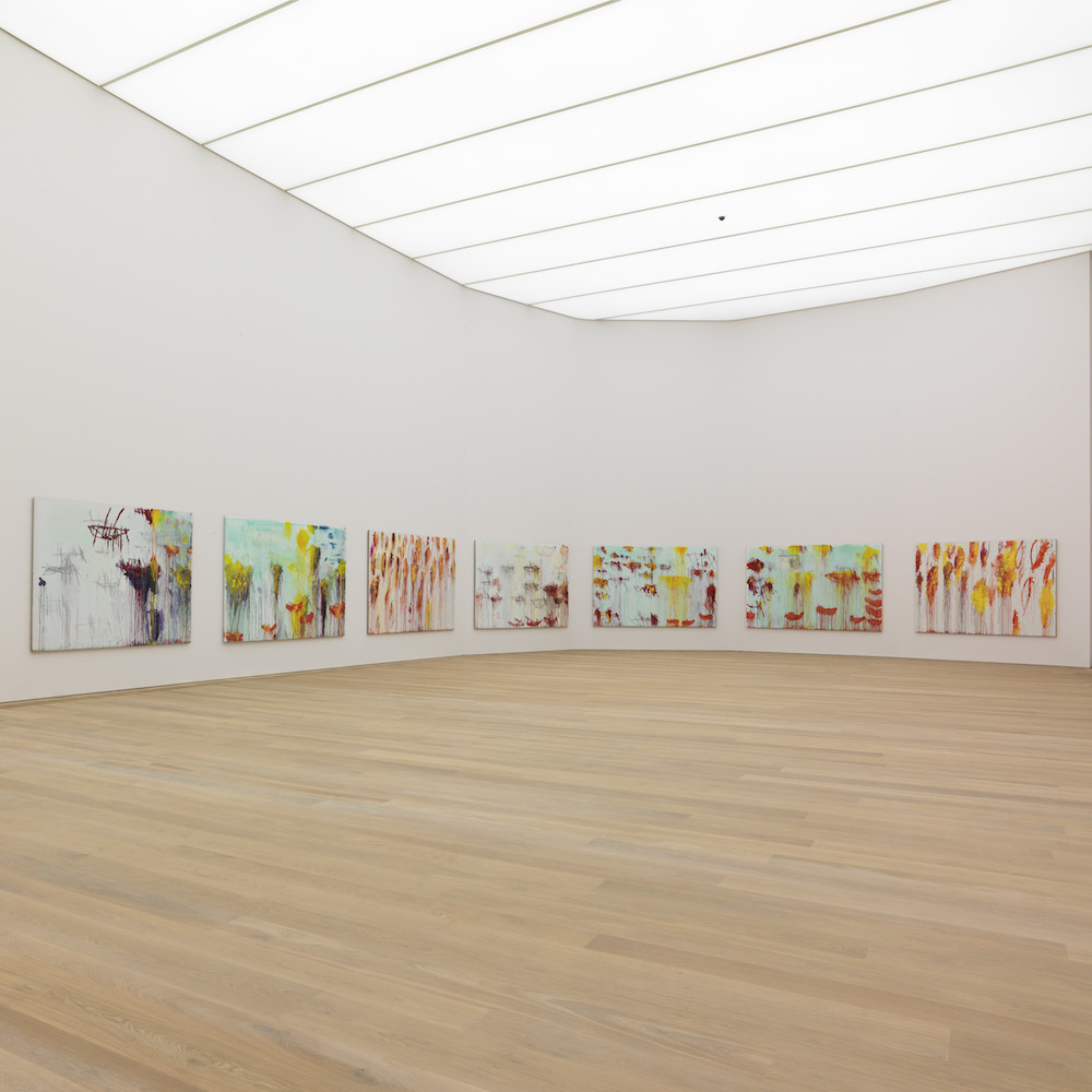 Museum Brandhorst München - Cy Twombly - Lepanto Saal