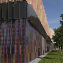 Museum Brandhorst München - Fassade aus 36000 Keramikstäben