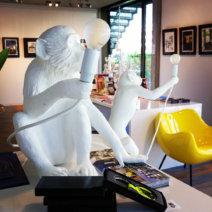 Notre Gout Art Concept Store Berlin Affen Leuchte