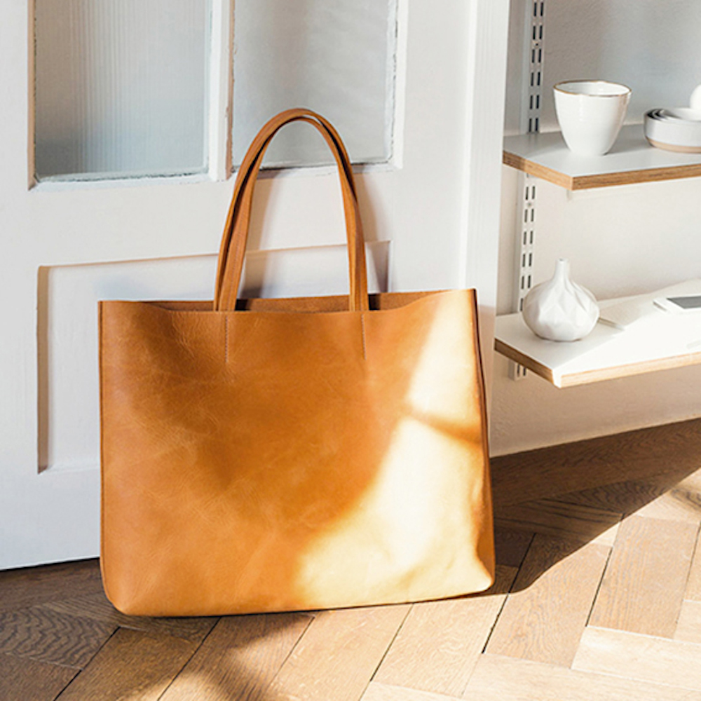 Kathrin Heubeck München - Handtasche aus Naturleder