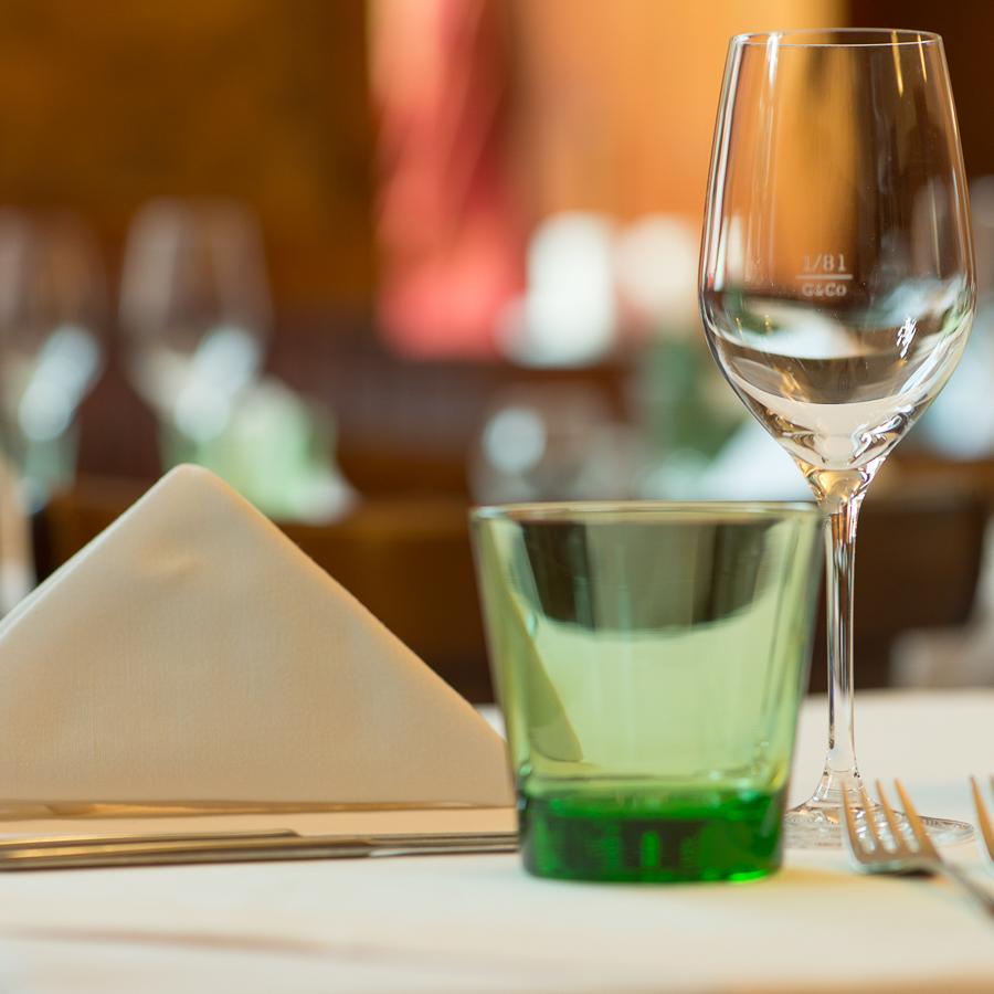 Restaurant Das Dreieck Wien Tisch