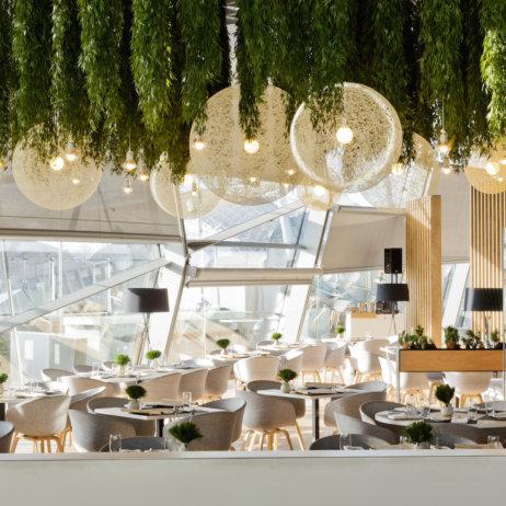 Bavarie München BMW Welt Hanging Garden