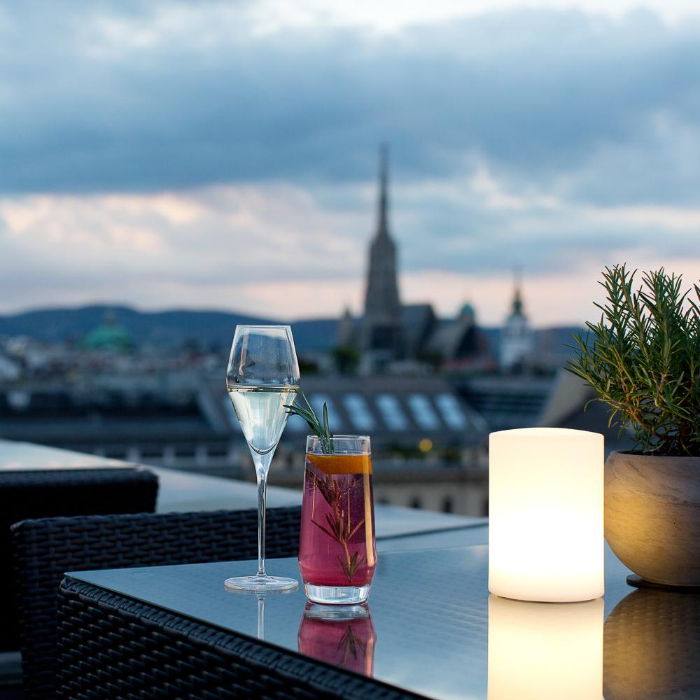 Dstrict Steakhouse im Ritz Carlton Vienna Wien Aussicht