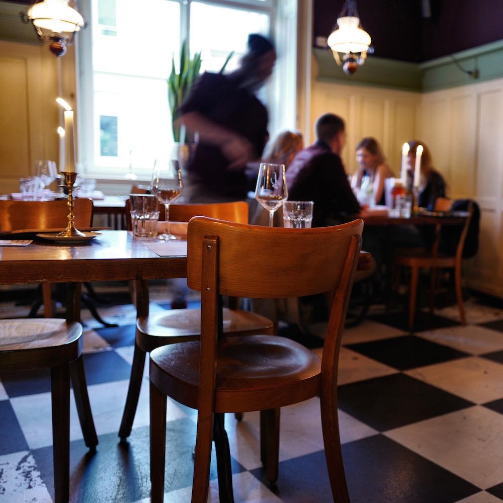 Restaurant Krokodil Zürich Interieur