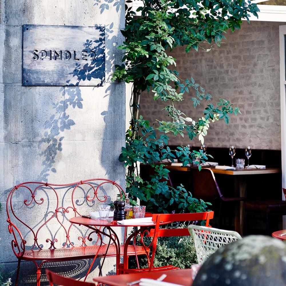 Restaurant Spindler Berlin Kreuzberg Garten Terrasse