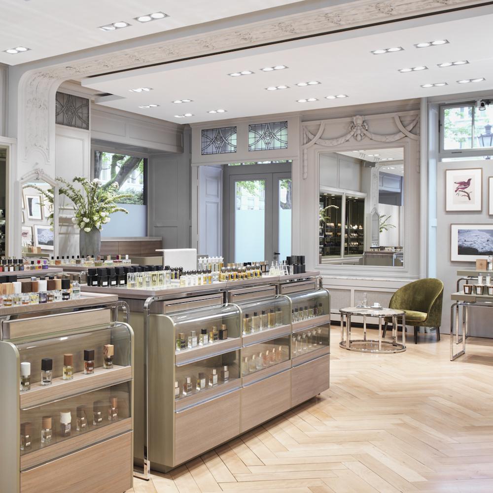 Spitzenhaus Zürich Parfumerie