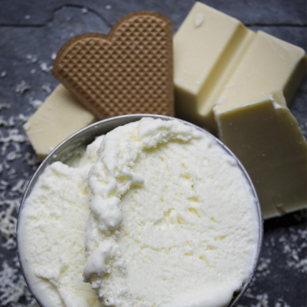 Vidoni Eisdiele Wien Weiße Schokolade
