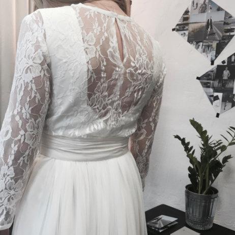 Atelier Kaldewey München Handgenähtes Brautkleid