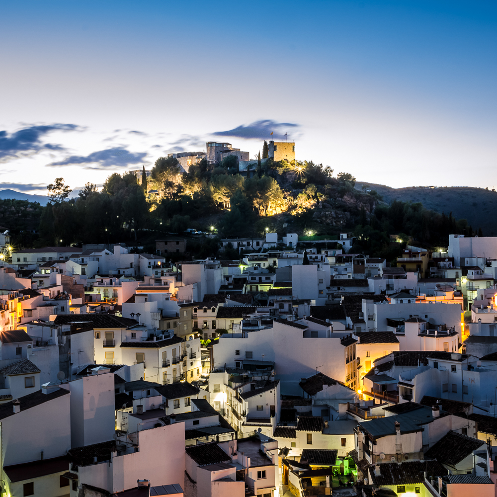 Castillo de Monda Spanien