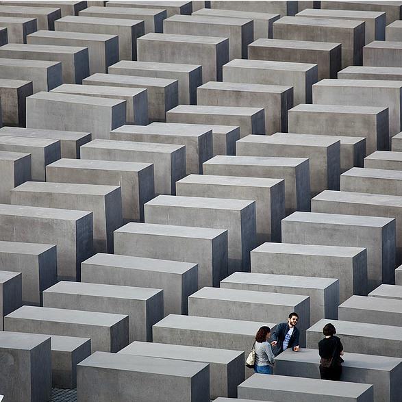 Denkmal für die ermordeten Juden Europas Berlin Mitte