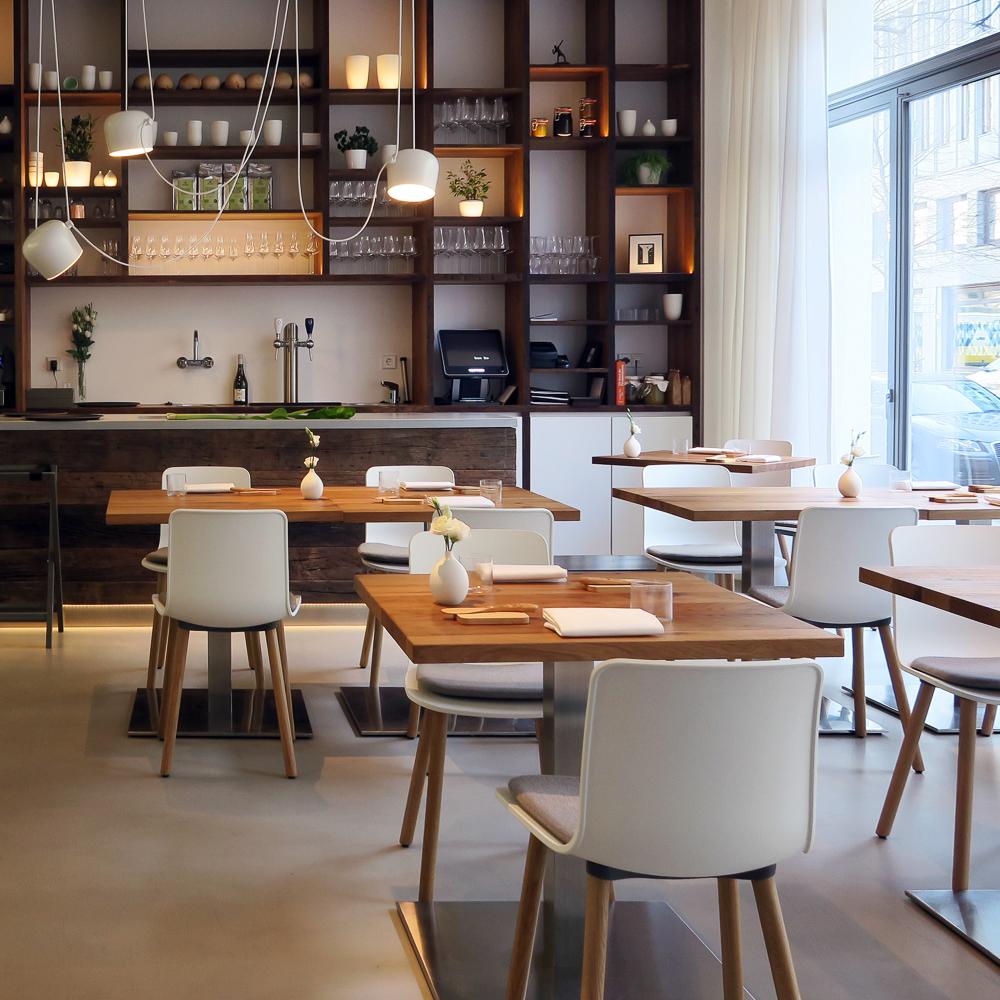 Restaurant eins unter null Berlin Mitte Interieur