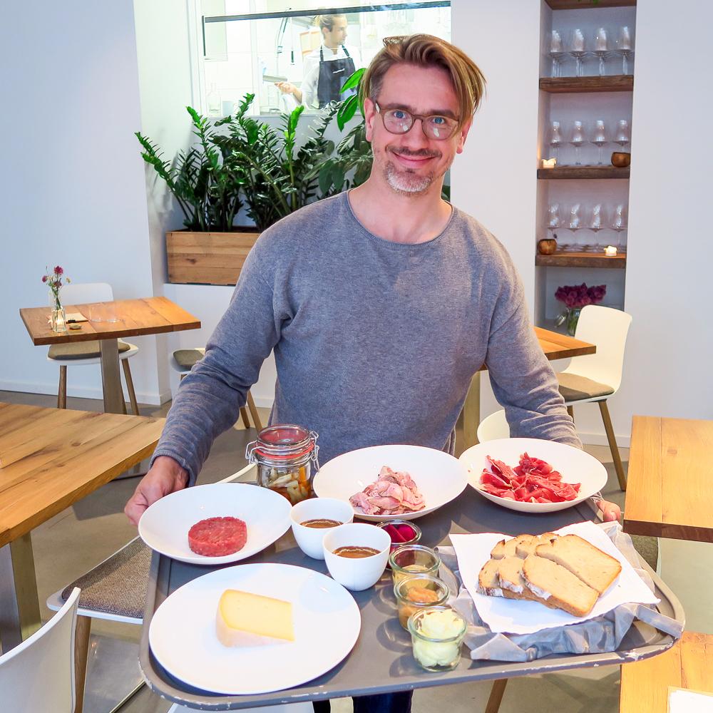 Restaurant einsunternull Berlin Mitte Abendbrot mit Ivo Ebert