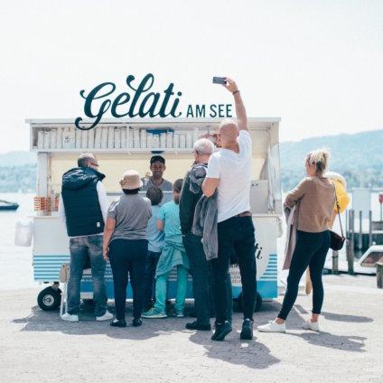 Gelati am See Zürich Glacestand