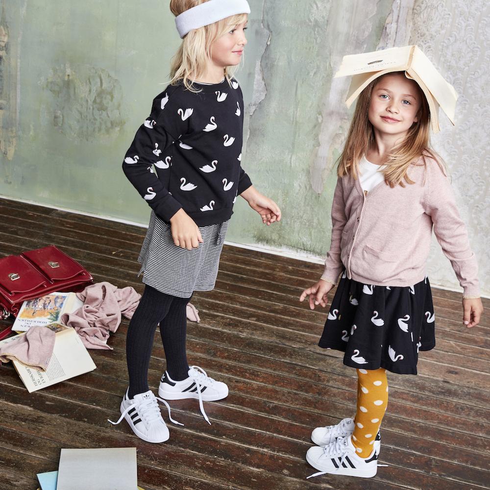 Milk Copenhagen Kids Sweater Swan
