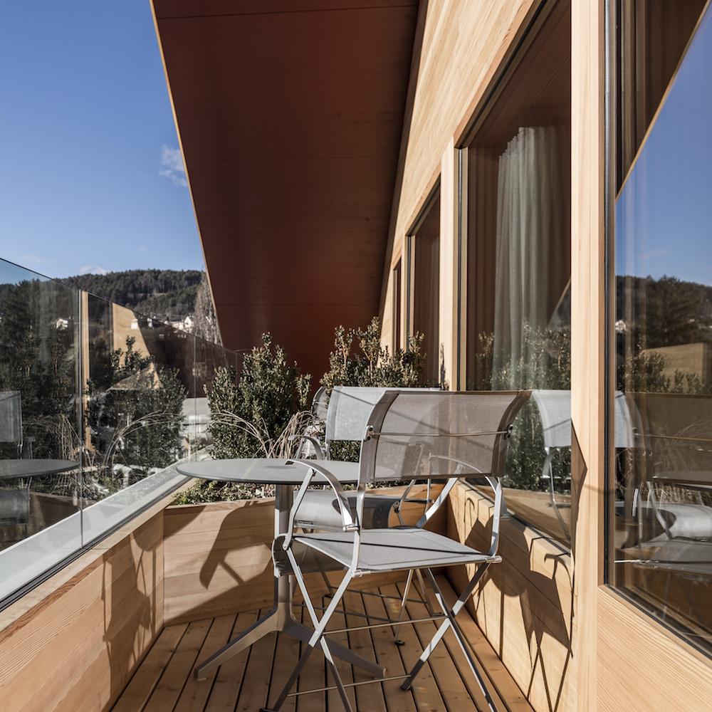 Paula Wiesinger Apartments Südtirol Balkon