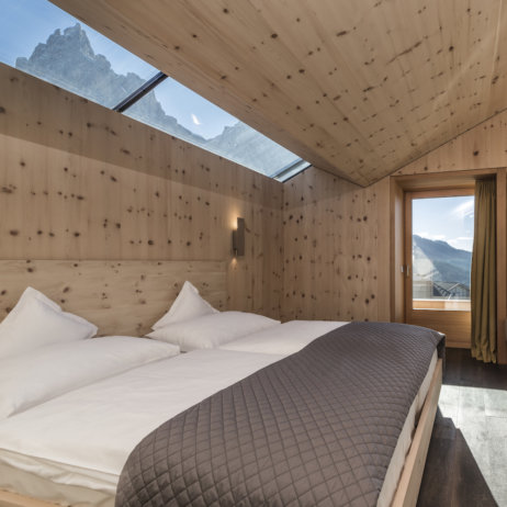 Paula Wiesinger Apartments Südtirol Suite mit Bergblick