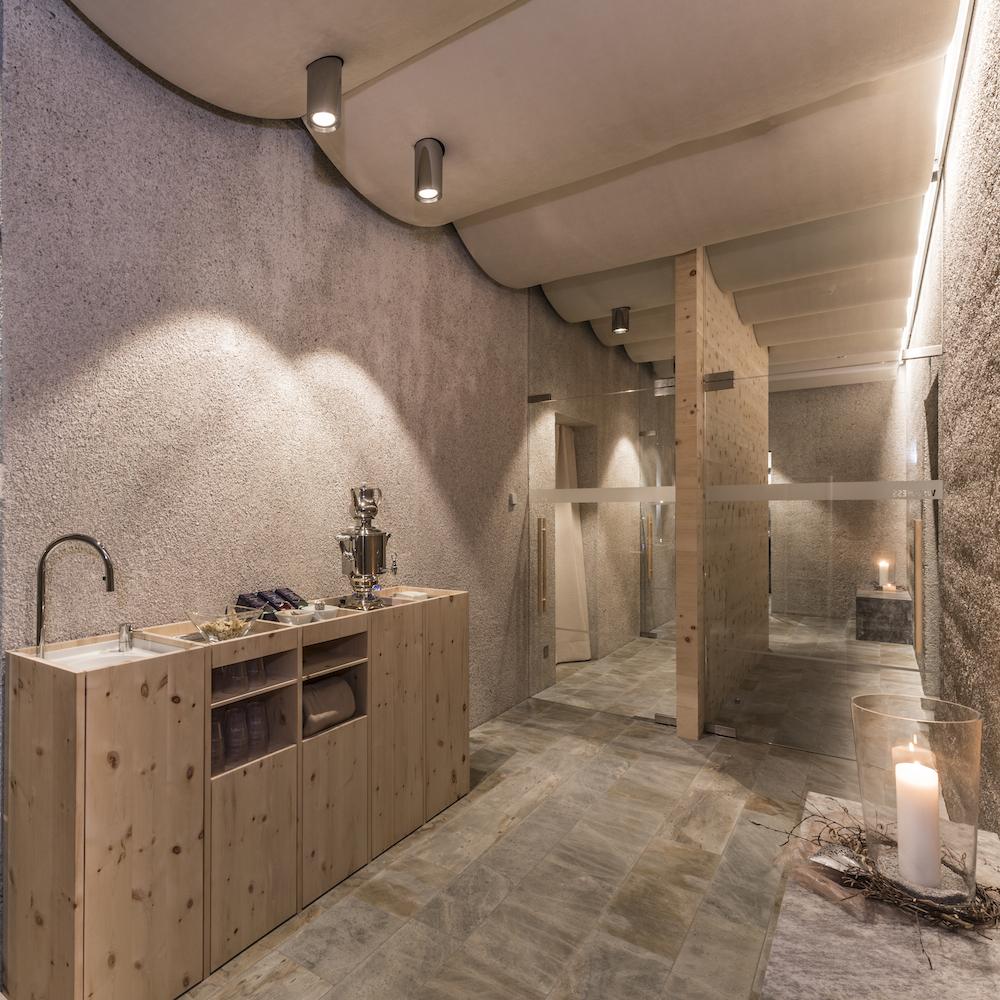Paula Wiesinger Apartments Südtirol Wellnessbereich
