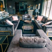 Suite030 Monbijou Apartment Berlin Mitte Wohnzimmer