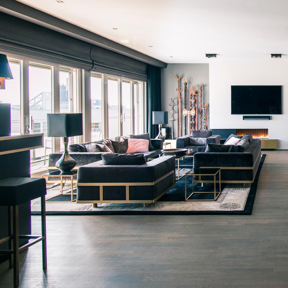 Suite030 Monbijou Apartment Wohnzimmer