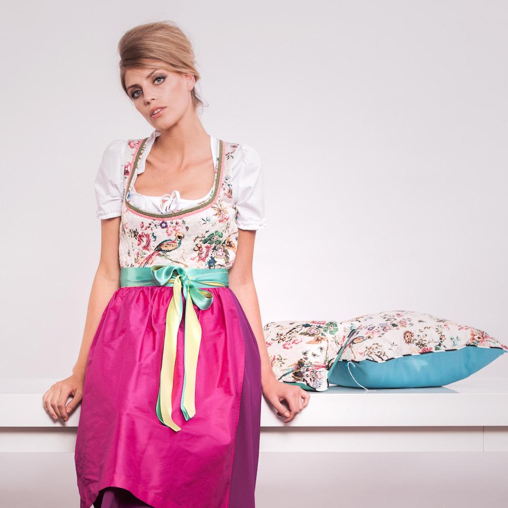 Ursula von Minckwitz München Dirndl Pink