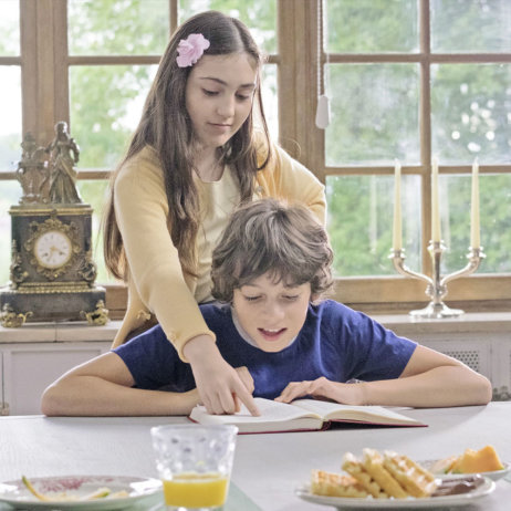 ZFF für Kinder Le coeur en braille